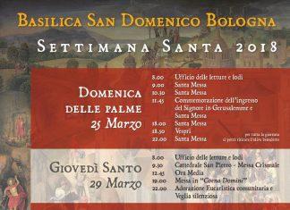 Orari Settimana Santa (2018) a San Domenico
