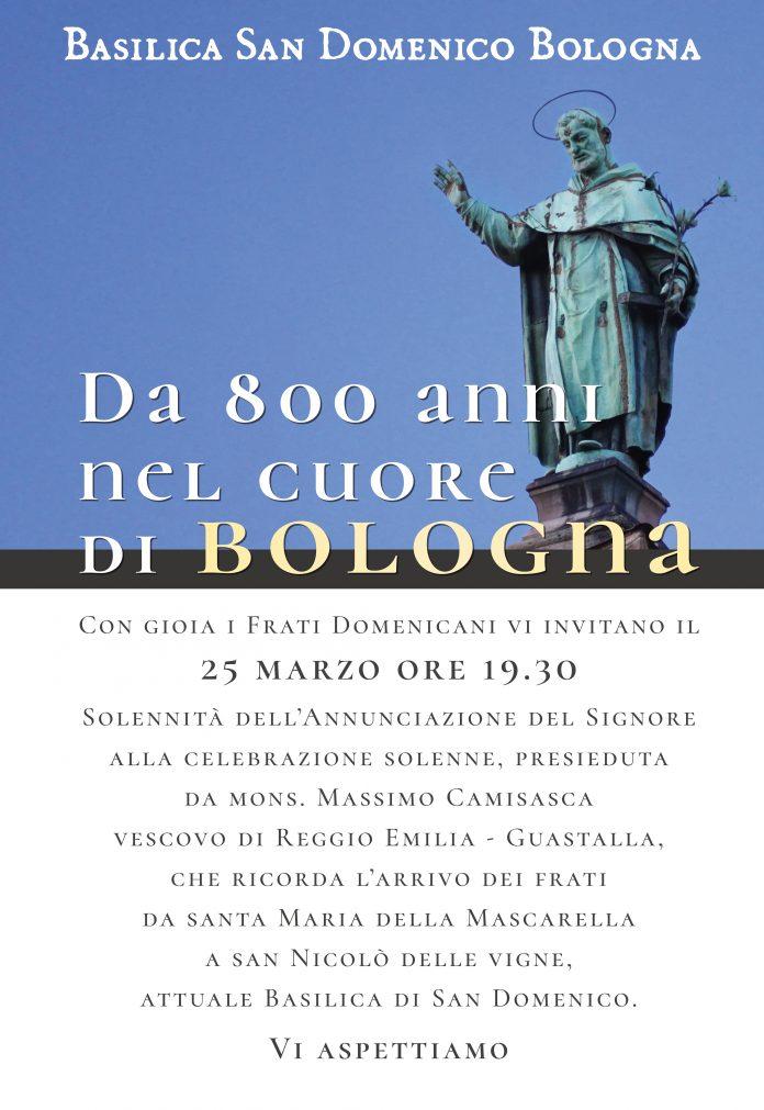 Poster per la Solennità del 25 marzo, con ricordo degli 800 anni della Basilica