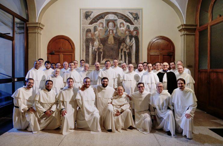 I frati della comunità di San Domenico Bologna